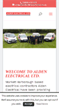 Mobile Preview of aldenelectrical.co.uk